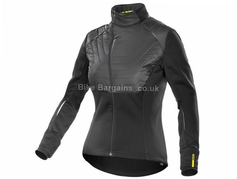 Mavic Ksyrium Elite Insulated Ladies Jacket 2016 M,XL, Black, Women's, Long Sleeve