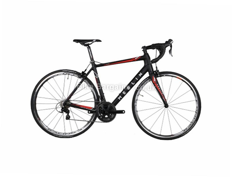 Merlin Cordite Ultegra 6870 Di2 Ltd Edition Carbon Road Bike 2017 46cm,49cm,52cm,55cm,58cm, Black, Grey, Red, Yellow, Carbon, Calipers, 11 speed, 700c