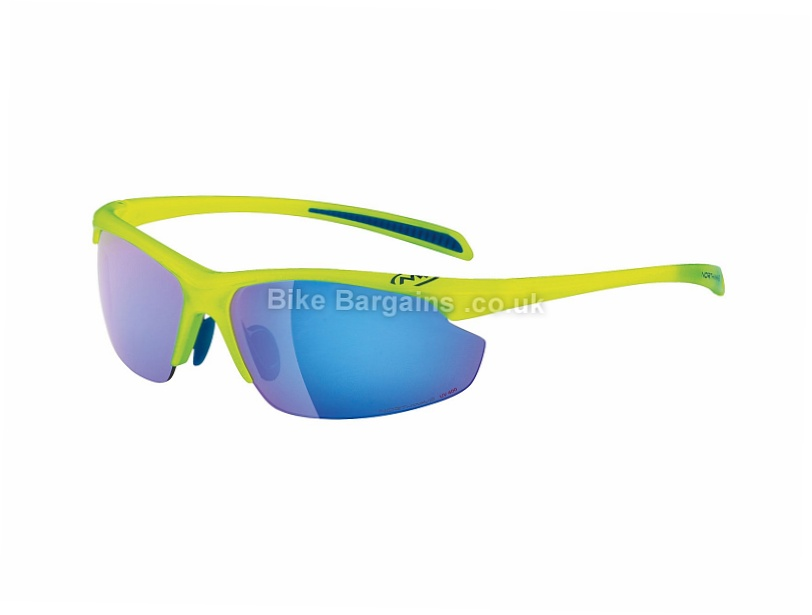 Northwave Devil Bike Sunglasses Yellow, One Size