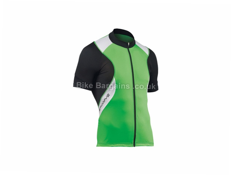 Northwave Sonic Short Sleeve Jersey M, Black, Green