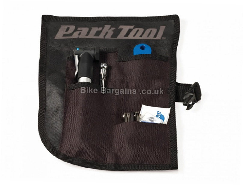 Park Tool BTR1 Tool Roll Kit Black, Pump, Tools, Patches, Levers