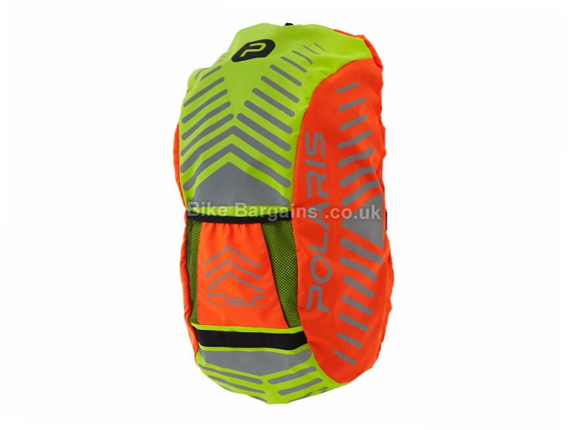 Polaris RBS Commuter Backpack Rain Cover One Size, Orange, Yellow, up to 35 litres