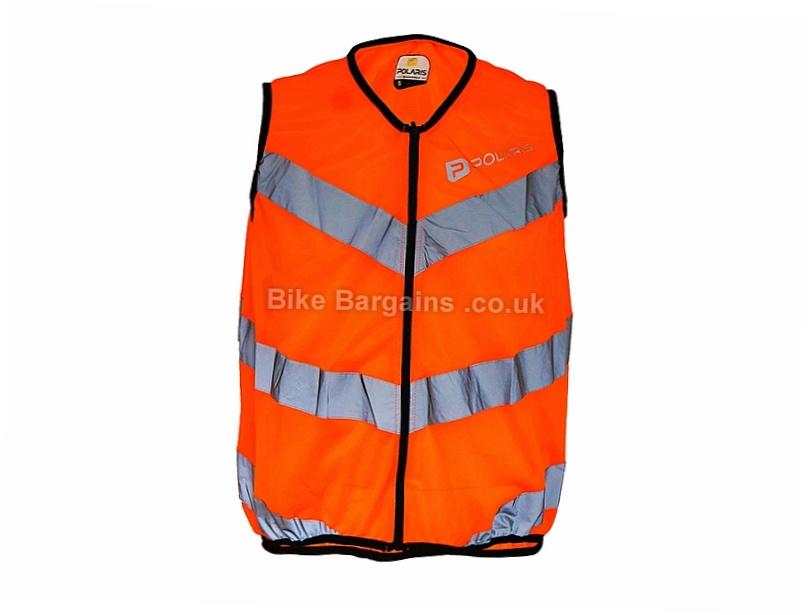 Polaris RBS Flash Vest Gilet XL,XXL, Orange, Yellow