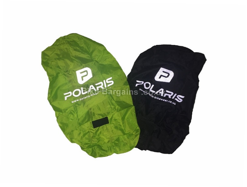 Polaris RBS Watershed Backpack Rain Cover One Size, Black, Silver, Green
