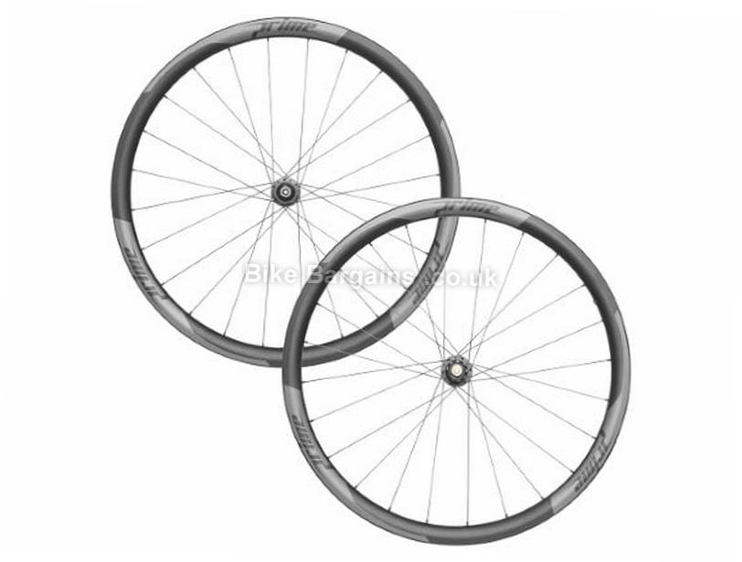 Prime RR-35 Carbon Tubular Disc Road Wheels Black, White, 700c, Shimano, SRAM, 1532g