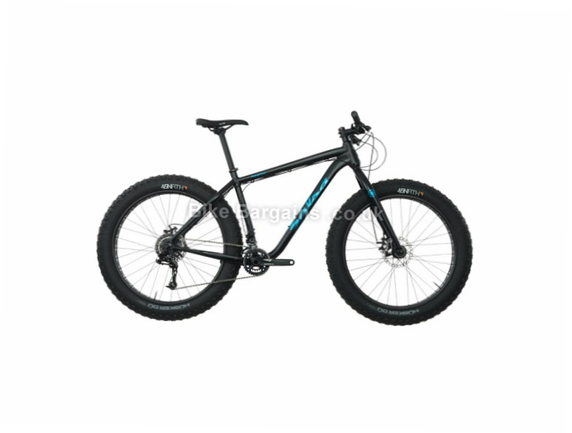 "Salsa Beargrease X5 26"" Alloy Hardtail Fat Mountain Bike 2017 M,L, Black, 26"", Alloy"