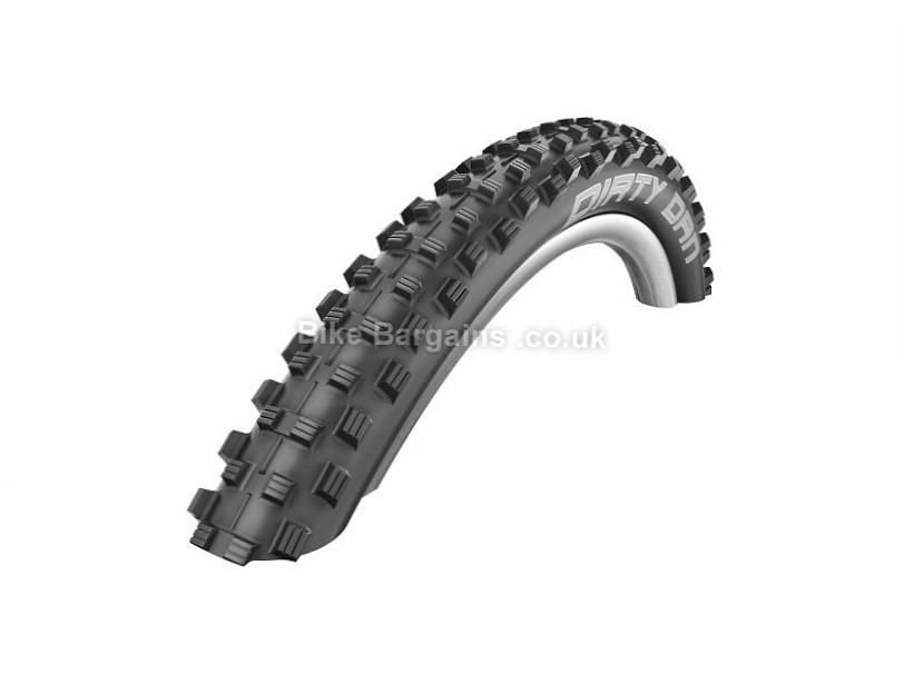 """Schwalbe Dirty Dan Evo LiteSkin 27.5"""" Folding Mountain Bike Tyre 27.5"""", 2.0"""", Black, Folding"""
