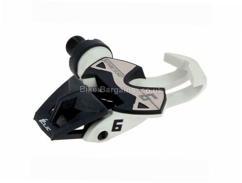 Time Xpresso 6 Road Pedals White, Black, 205g pair