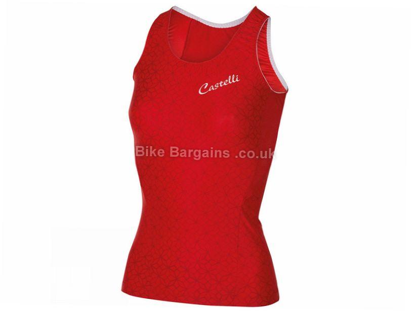 Castelli Ladies Bellissima Sleeveless Jersey 163 23 Was 163 45