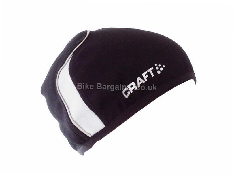 Craft Flex Race Skull Cap Hat S,M, White, Black