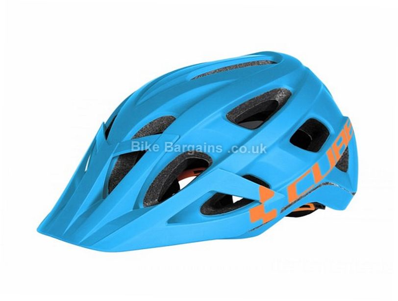 Cube AM Race MTB Helmet 2016 S,M - L is extra, Orange, 320g, 17 vents