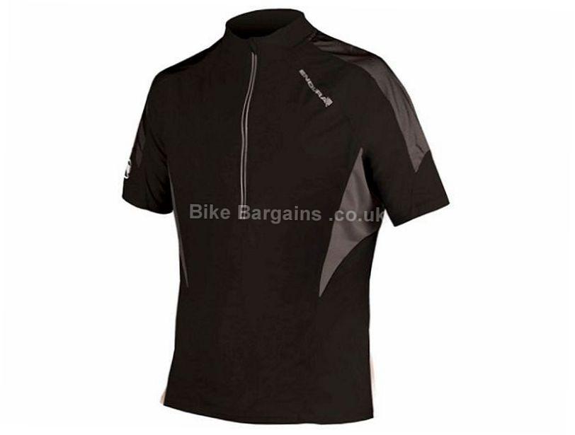 Endura Hummvee Lite Short Sleeve Jersey S, Black