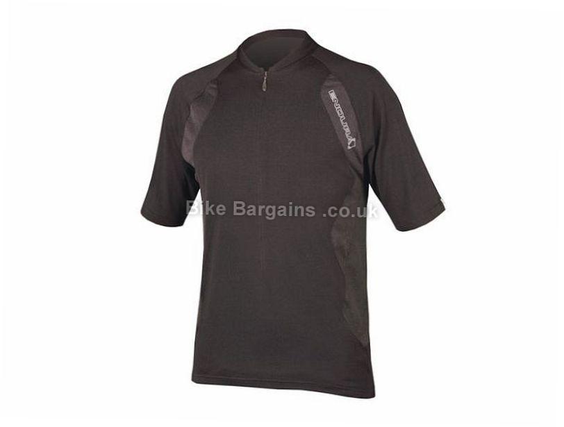 Endura SingleTrack Lite Short Sleeve Jersey 2017 S, Green