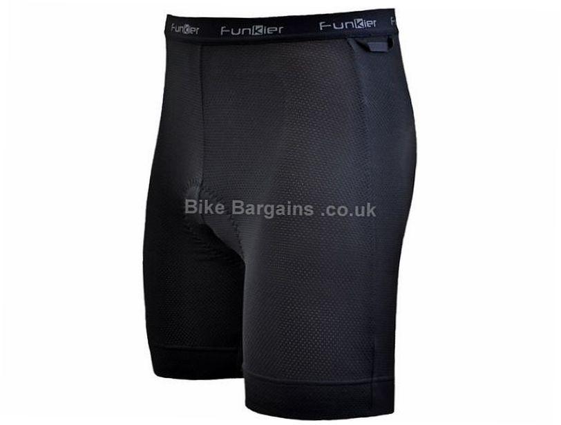Funkier Active Padded Boxer Shorts XXXL, Black