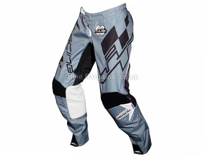 "JT Racing Checked DH Pants 30"",32"",34"",36"", Red, White, Blue, Black, Grey"