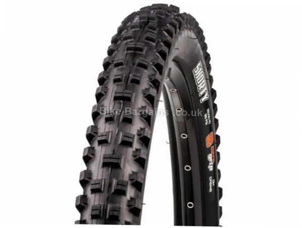 """Maxxis Shorty Wire MTB Tyre 26"""", 2.4"""", Black, Wire, 1215g"""