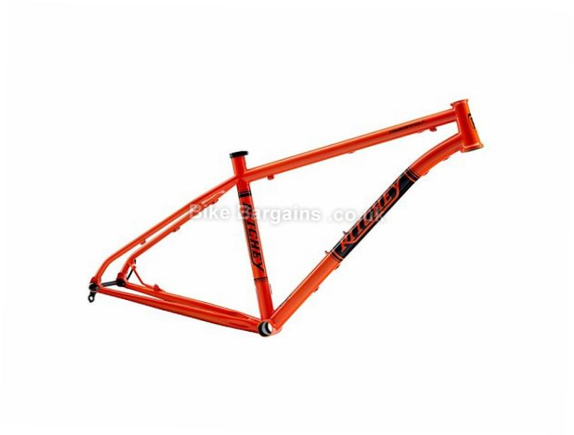 "Ritchey Timberwolf 27.5"" Steel Hardtail Mountain Bike Frame 2017 17"", Orange, 27.5"", 2410g, Steel, Hardtail"