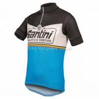 Santini Wool Heritage 2.0 Short Sleeve Jersey