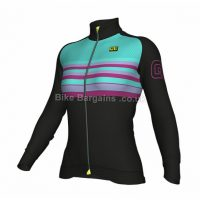 Ale Ladies Stripe Road Long Sleeve Jersey