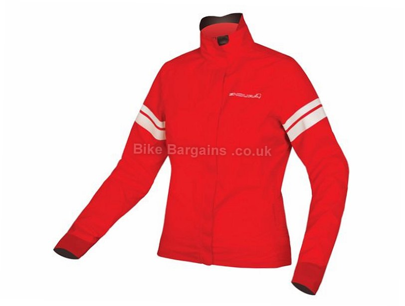 Endura FS260 Pro SL Shell Ladies Jacket 2017 S, Red, Women's, Long Sleeve