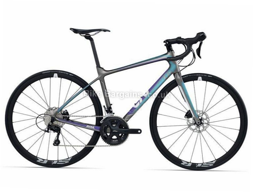 Giant Liv Avail Advanced Pro 2 Carbon 105 Ladies Disc Road Bike 2017 M, Grey, Ladies, Carbon, Disc, 11 speed, 700c