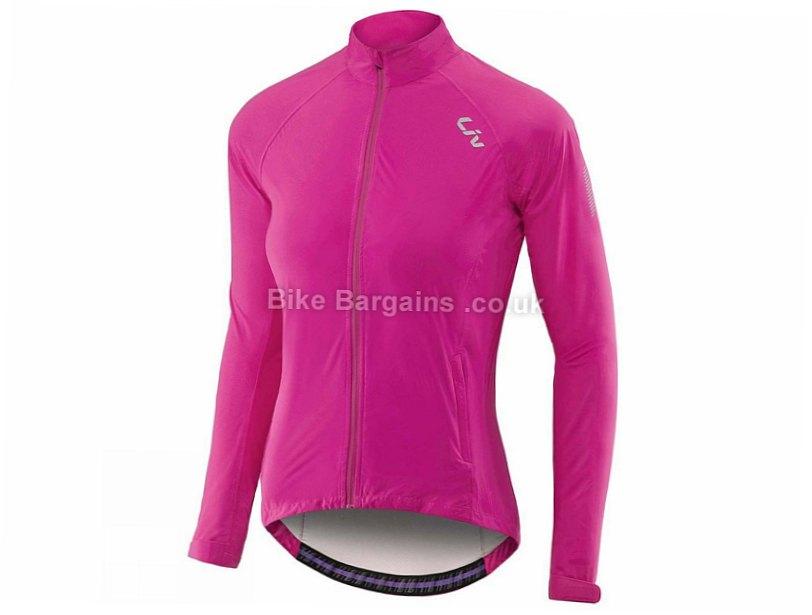 Giant Liv Delphin Rain Ladies Waterproof Jacket XL, Black, Women's, Long Sleeve
