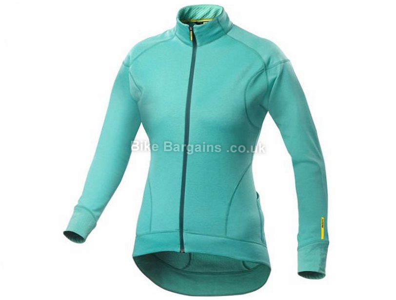 Mavic Ladies Ksyrium Elite Thermo Long Sleeve Jersey 2016 XS, Pink