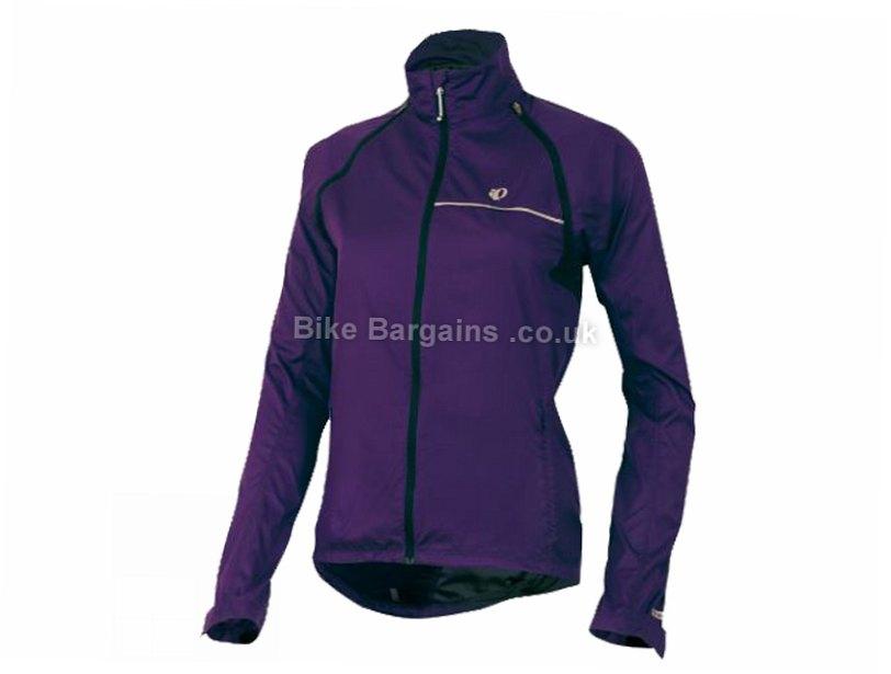 Pearl Izumi Elite Barrier Convertible Ladies Jacket XL, Purple, Women's, Long Sleeve / Sleeveless