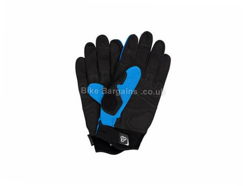 Sombrio Cartel Full Finger MTB Gloves 2017 XS, S, M, L, XL, Blue