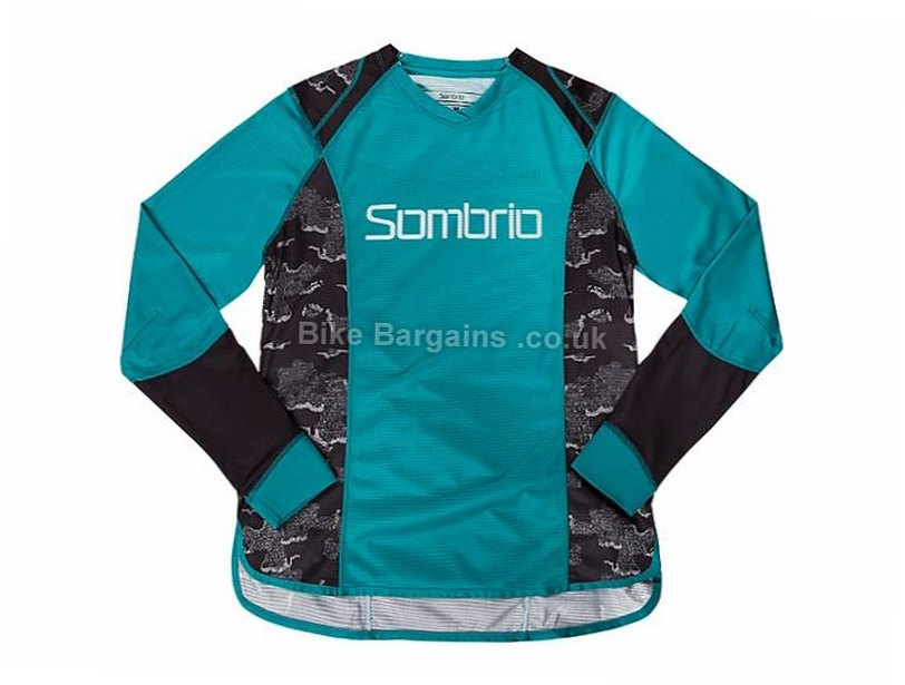 Sombrio Ladies Burst MTB Long Sleeve Jersey 2016 XS,M,L, Green, S,XL, Yellow are extra