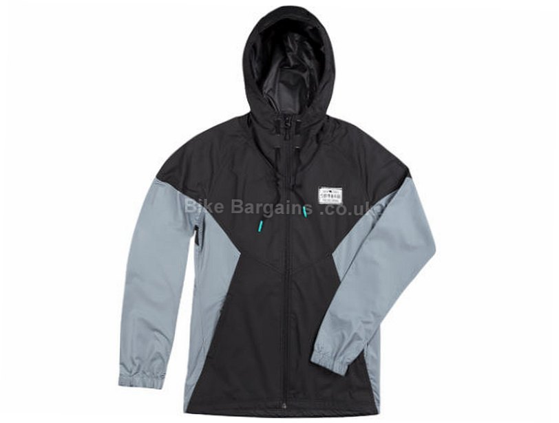 Sombrio Chinook Ladies Windproof Hooded Jacket 2017 XS,S,M,L,XL, Black, Grey, Women's, Long Sleeve