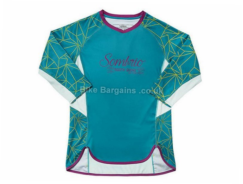 Sombrio Ladies Vista MTB Long Sleeve Jersey 2016 XS,S,L, Red