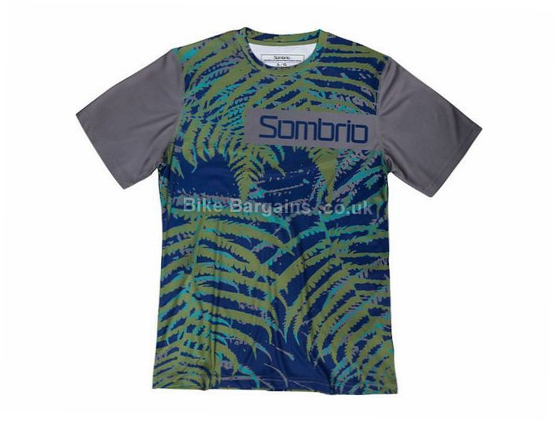 Sombrio Slice n Dice MTB Short Sleeve Jersey 2016 XS, Grey