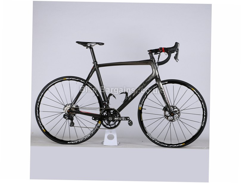 Time Fluidity Ultegra Di2 Carbon Disc Road Bike 2017 L, Grey, Carbon, Disc, 11 speed, 700c