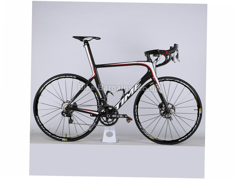 Time Skylon TL Ultegra Di2 Disc Carbon Road Bike 2017 M, Black, White, Red, 22 Speed