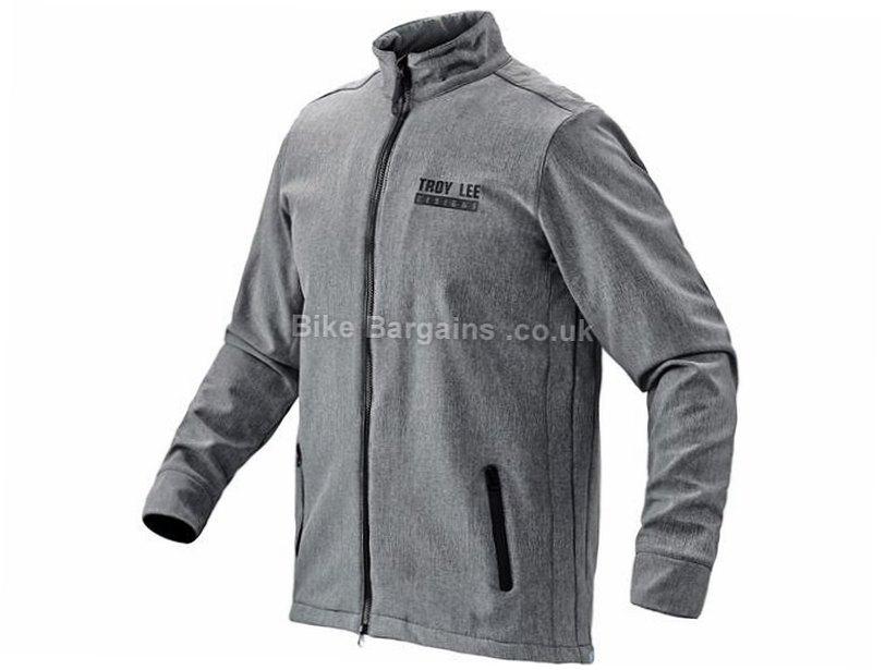 Troy Lee Designs Transit Jacket 2016 S, Grey, Men's, Long Sleeve