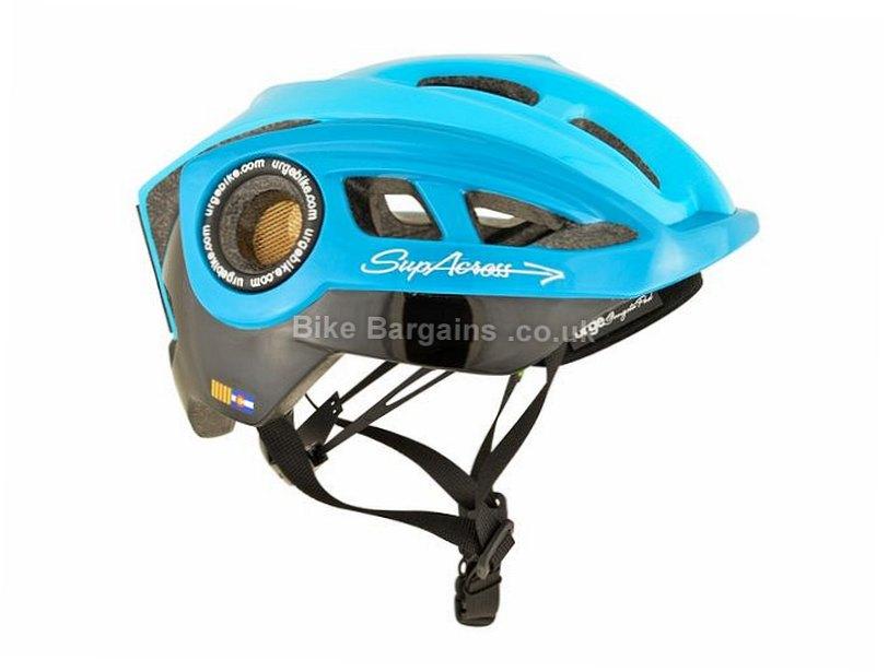 Urge Supacross MTB Helmet 2016 S,M, Black, White, Yellow, 230g