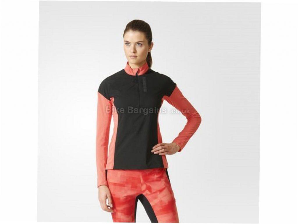 Adidas Ladies Terrex Skyclimb Long Sleeve Jersey M,L,XL, Black, Pink