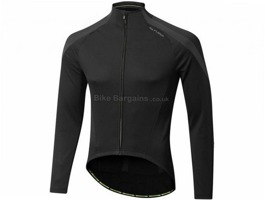 Altura NV2 Thermoshield Long Sleeve Jersey 2018 S,M,L,XL,XXL, Black