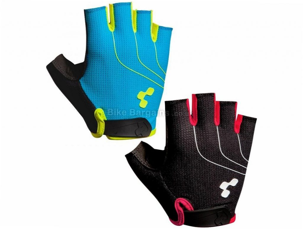 Cube Natural Fit LTD Mitts M,XXL, Black, Blue, Red, Mitts, Gel, Nylon, Velcro