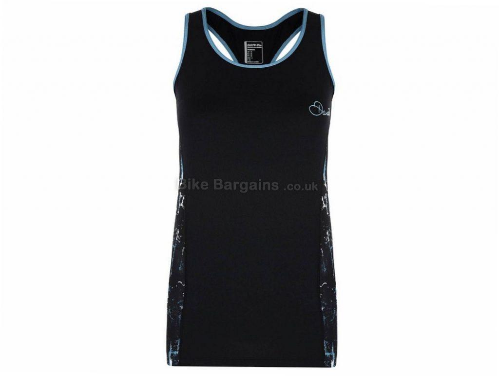 Dare 2b Inflexion Ladies Sleeveless Jersey 16,18, Black, Grey