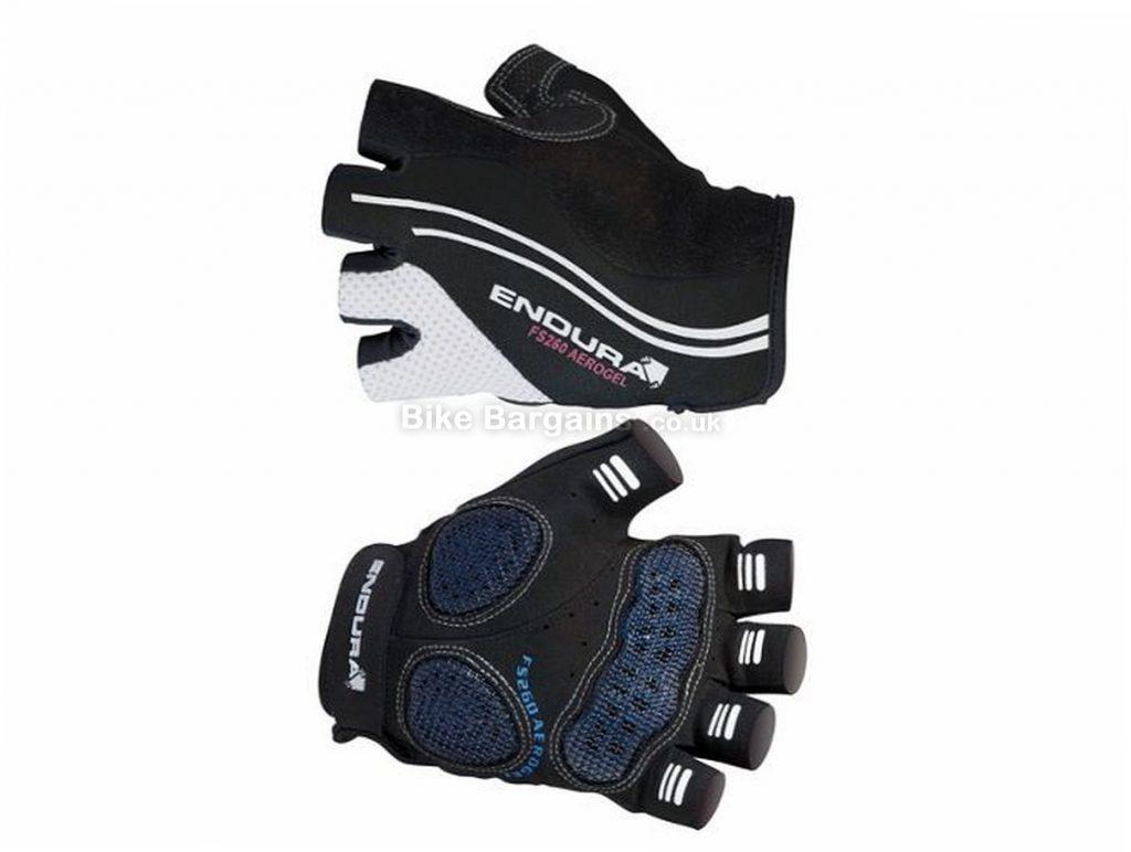Endura FS260 Aerogel Mitts 2013 XS, Black, Blue, Mitts, Gel, Velcro