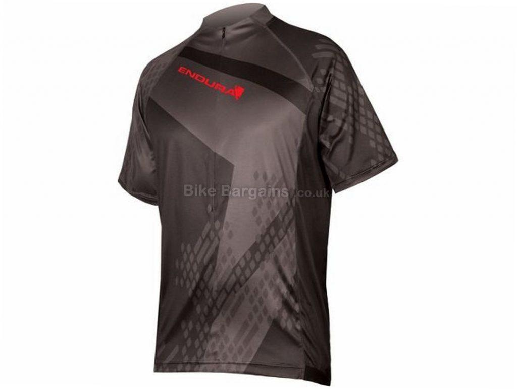 Endura Hummvee Ray II Short Sleeve Jersey 2017 S, Red