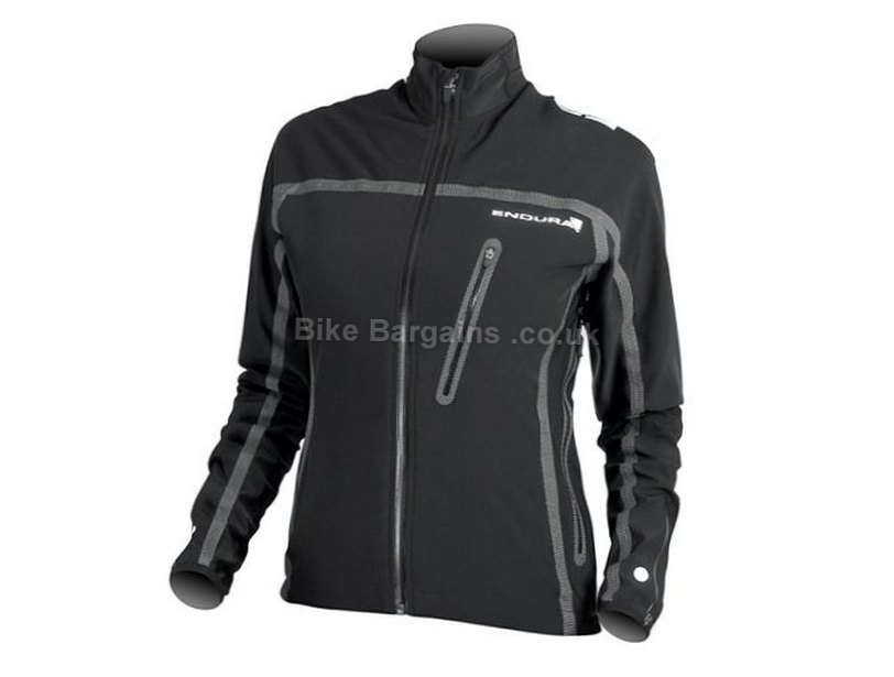 Endura Stealth Ladies Jacket L, Black, Women's, Long Sleeve