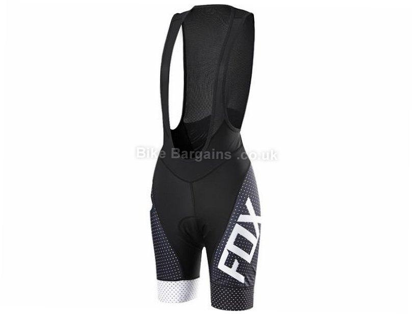 Fox Ladies Switchback Comp Bib Shorts 2016 L, Black