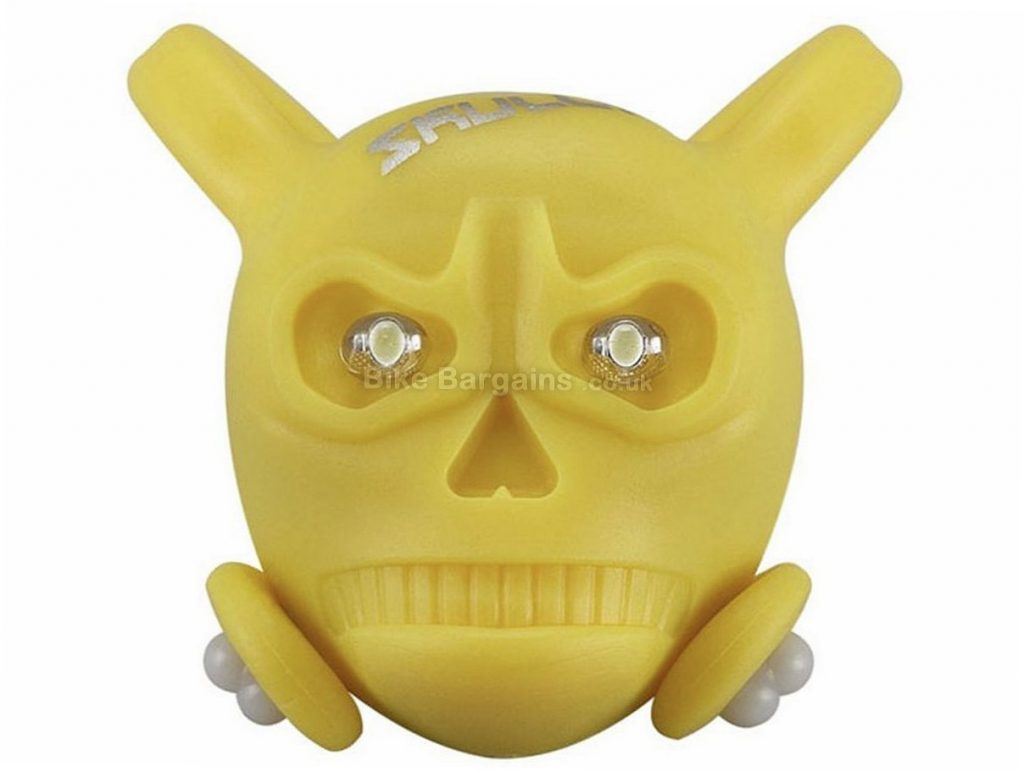 Ilumenox Skully Bike Light Yellow, Rear