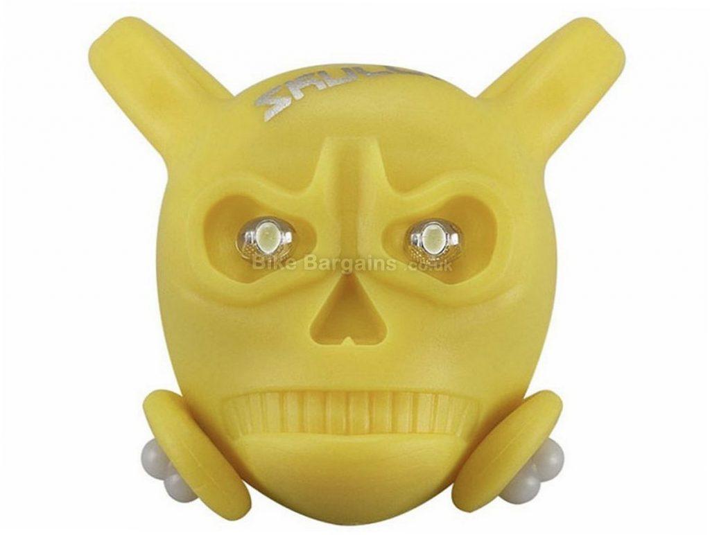 Ilumenox Skully Bike Light Yellow, Rear