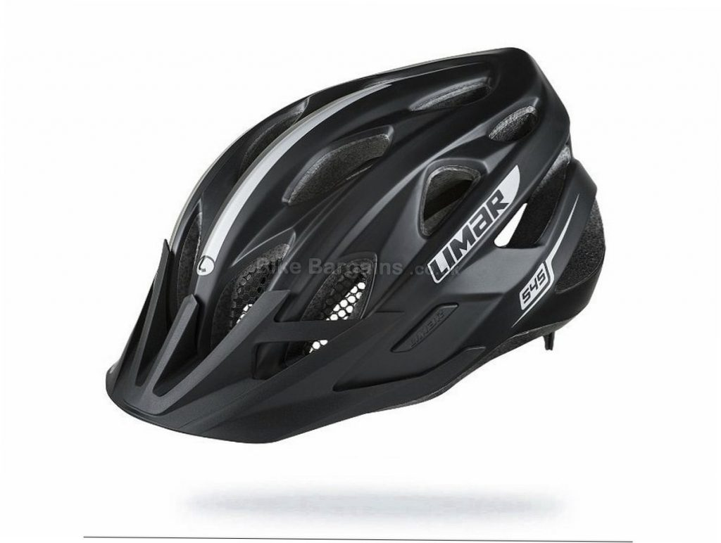 Limar 545 Helmet L, Black, White, 310g, 15 vents