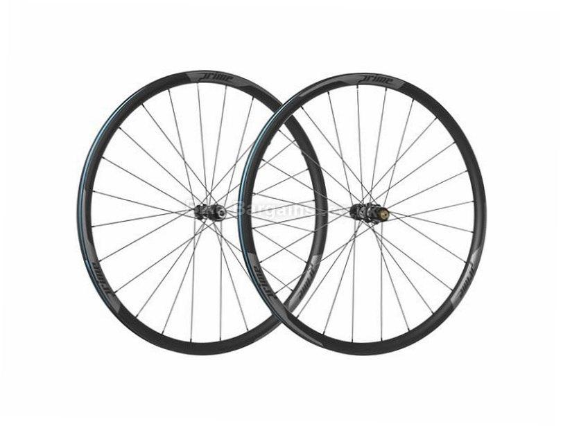 f5ba88bdeeb Prime RP-28 Carbon Clincher Disc Road Wheels 700c, Center Lock, Black,