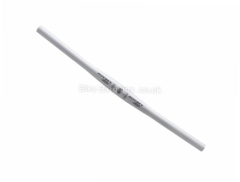 Ritchey Comp Alloy MTB Flat Handlebar 31.8mm, 620mm, Alloy, 230g, White